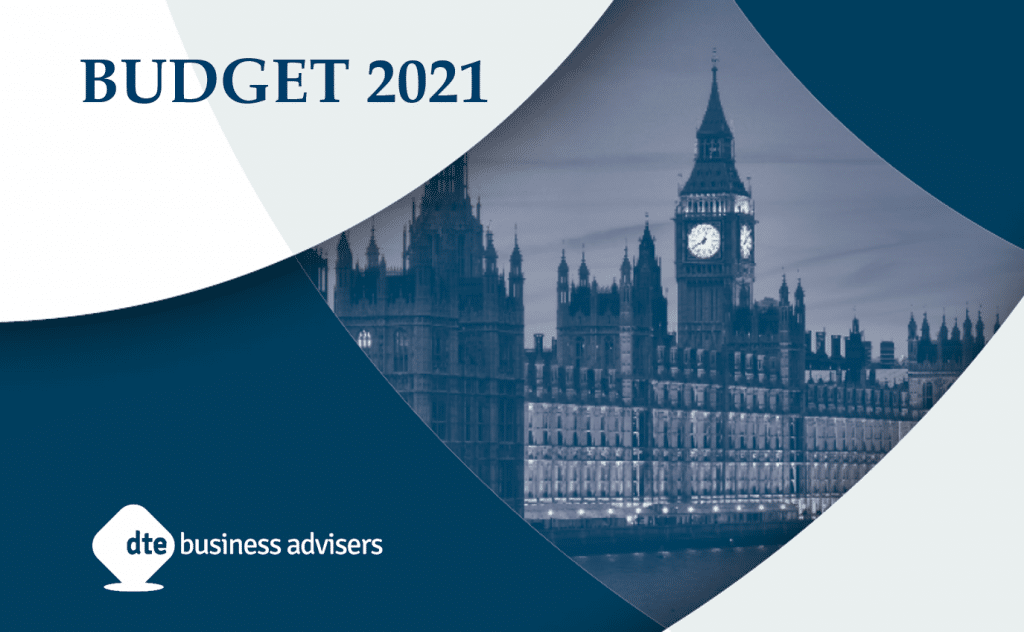 Budget 2021 summary DTE business advisers